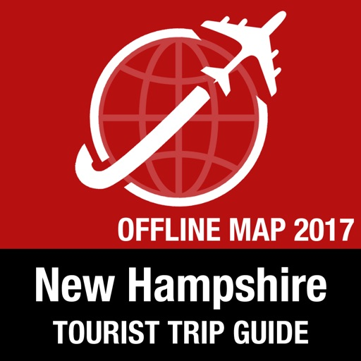 New Hampshire Tourist Guide + Offline Map