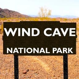 Wind Cave National Park Map, South Dakota