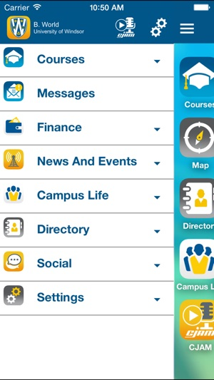 Uwindsor Campus Map.Myuwindsor On The App Store