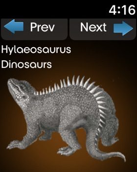 Dynosaurs Encyclopedia screenshot 12