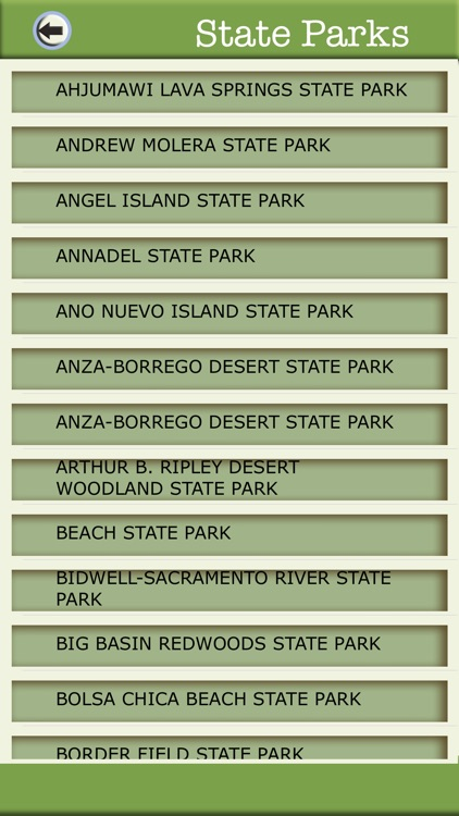 California Camping & Hiking Trails,State Parks screenshot-3