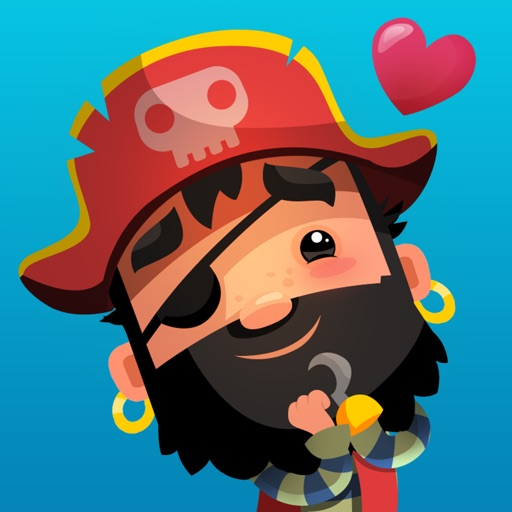 Pirate Kings Animated Stickers for Apple iMessage
