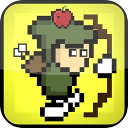 Arrow Shoot Apple 8Bit