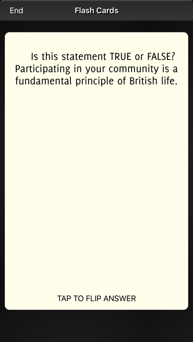 Life in the UK Test Question 2017 screenshot four