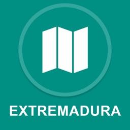 Extremadura, Spain : Offline GPS Navigation