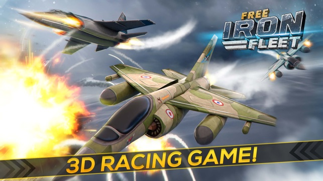 Iron Fleet Free: Air Force Jet Fighter Plane Game on the App Store