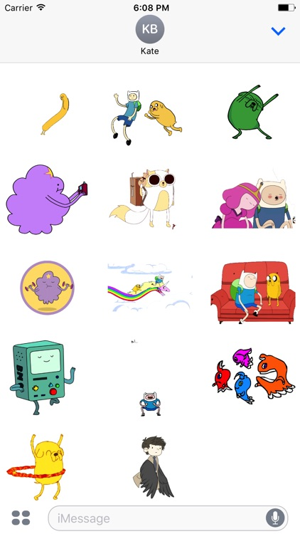Animated Adventure Stickers For iMessage