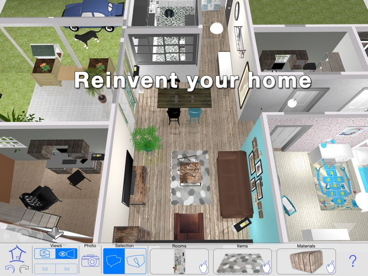 Casa Designer 3D - Home Makeover screenshot-0