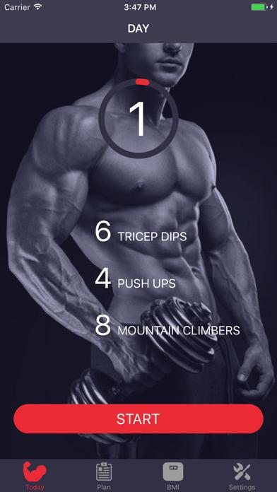 Biceps & Triceps Arm Workoutのおすすめ画像1