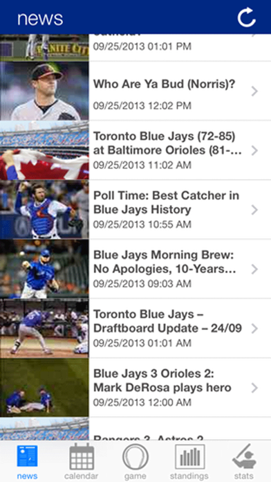 Toronto Baseball News screenshot one