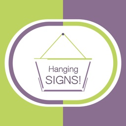 Hang a Sign! II (Green/Violet)