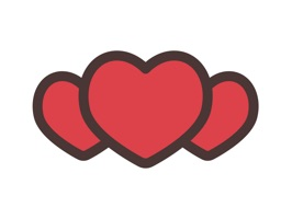 Animated Hearts Stickers Pack