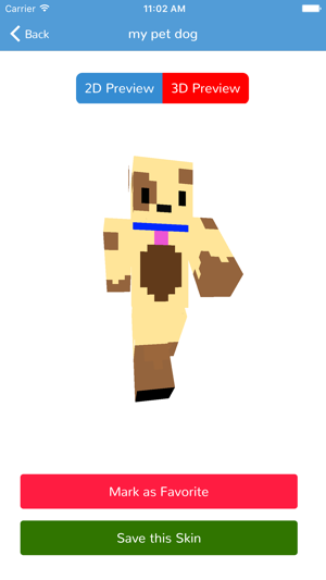 Dog Skins For Minecraft PE Edition On The App Store - Dog skins fur minecraft