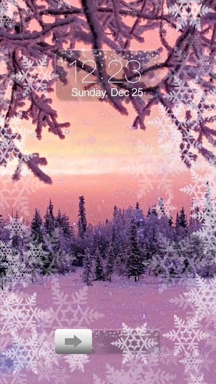 Snowfall Wallpaper Romantic Winter Backgrounds