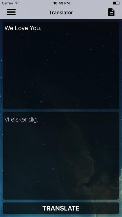 English To Danish Dictionary and Translator screenshot-4