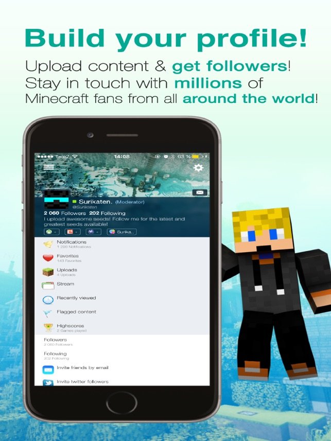 Seeds Lite For Minecraft Server Skin Community On The