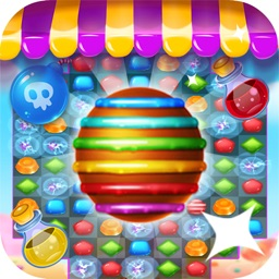 Frozen Frenzy Gummy Mania Candy Match 3 Games
