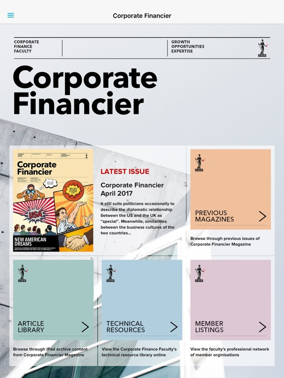 ICAEW Corporate Finance Faculty
