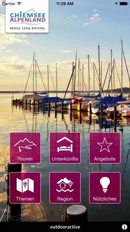 Chiemsee Alpen App