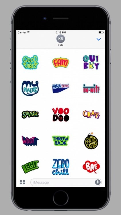 Trendy Lingo Stickers