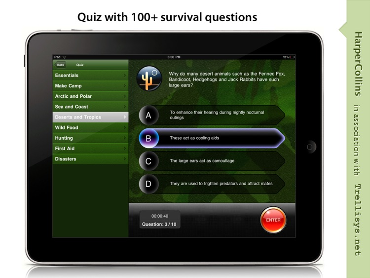 SAS Survival Guide for iPad screenshot-4