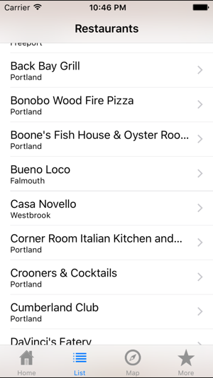 Maine Restaurant Week On The App Store