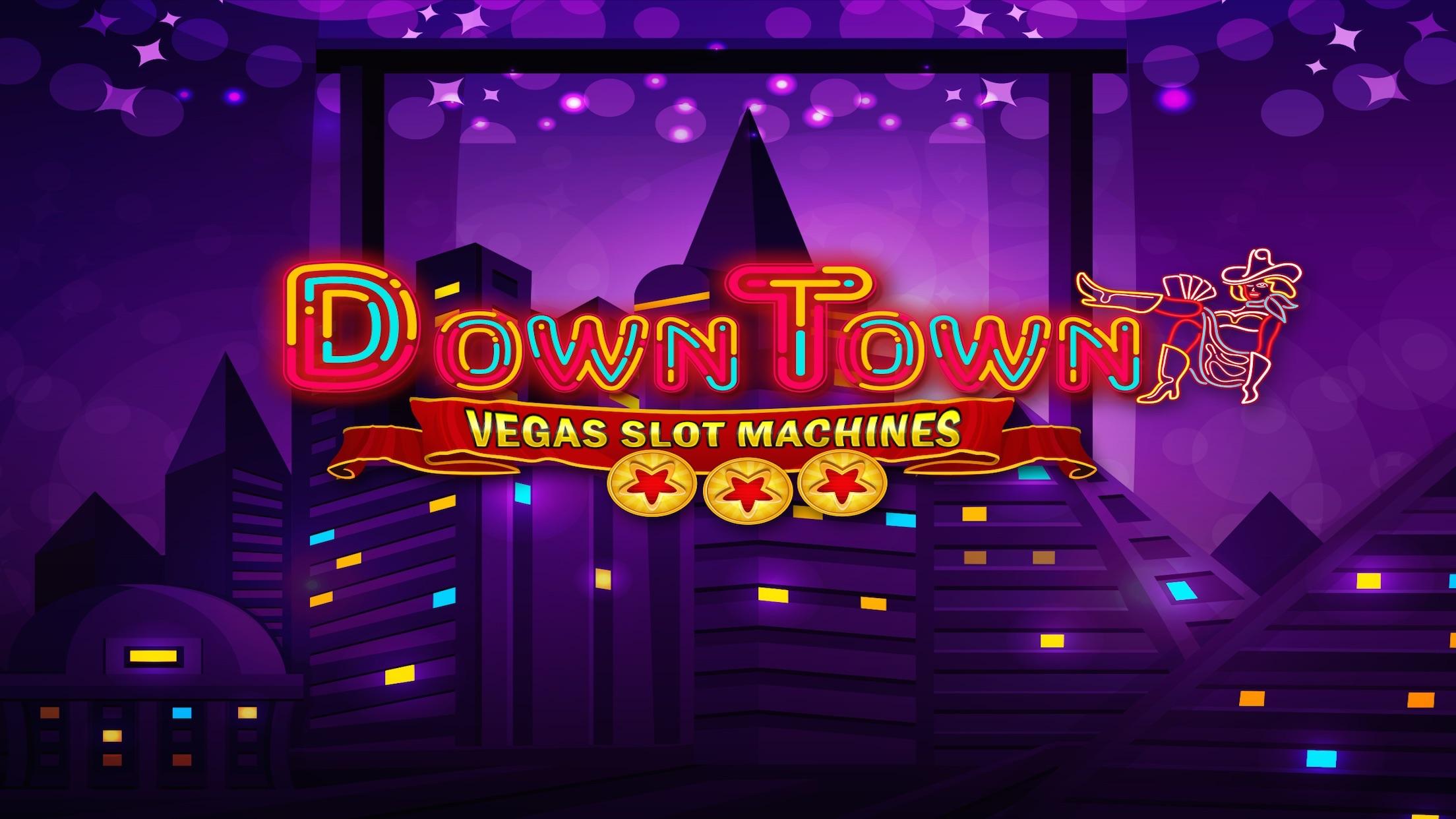 Casino Games - Downtown Vegas Slot Machines Screenshot