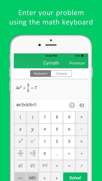 Cymath - Math Problem Solver for Windows