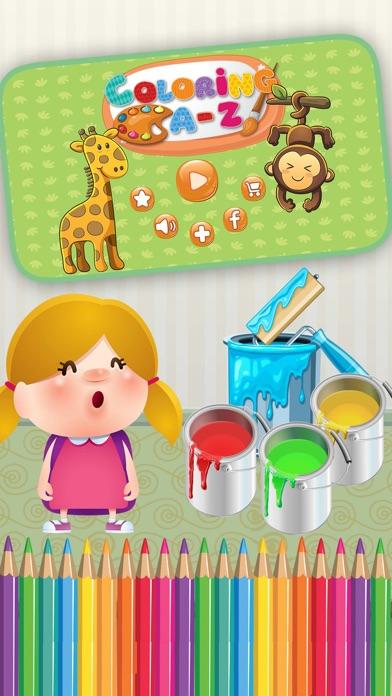 点击获取ABC Animals Coloring Book Game For Toddler And Kid