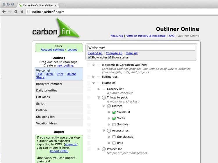Outliner for iPad screenshot-4