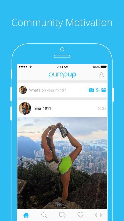 PumpUp - Health & Fitness Community