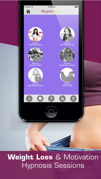 HYPNOSLIM WEIGHT LOSS HYPNOTHERAPY PROGRAM screenshot-3