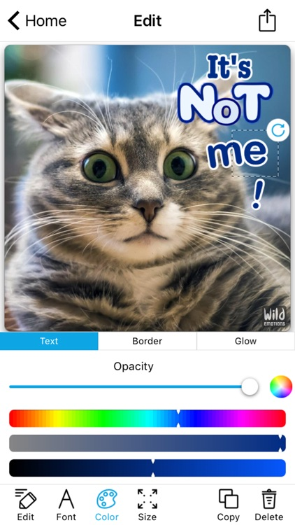 WildEmotions: add text to photos with animal cards screenshot-3