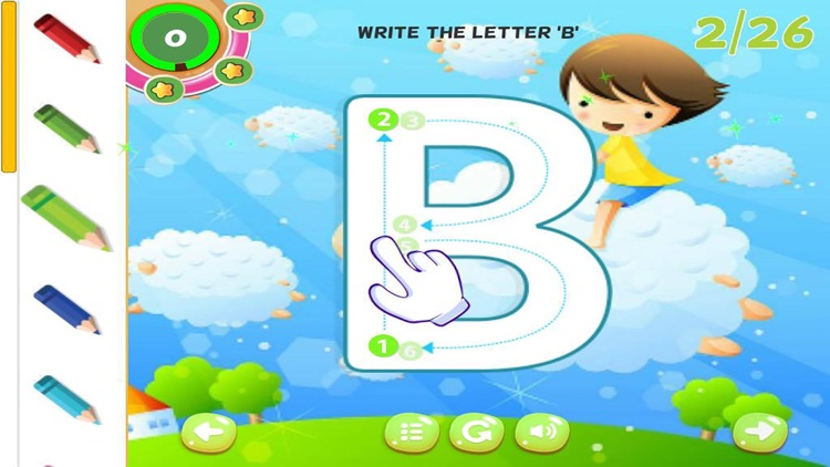 ABC Tracing Letters Preschool Handwriting Practice