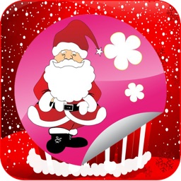 Santa claus coloring book free for kids