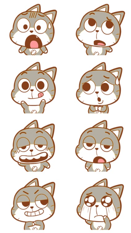 Cat Kitty Stickers