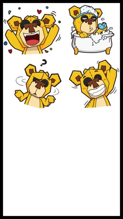 Plushy Bear Stickers screenshot-4