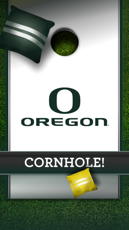 University of Oregon Ducks Cornhole