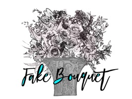 Fake Bouquet Flower Sticker Pack