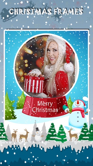Best Christmas photo frames for iPhone,Xmas frames on the App Store