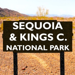 Sequoia and Kings Canyon National Park Map