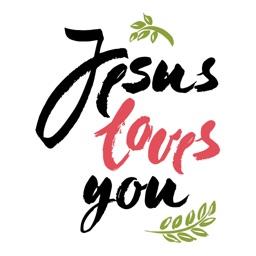 Jesus Loves You Sticker Pack
