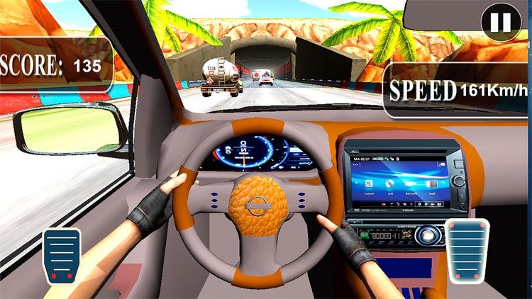 Fast Race In Car : A City Traffic Drive screenshot-3