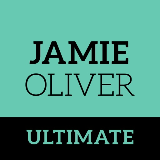 Jamie Oliver's Ultimate Recipes app logo