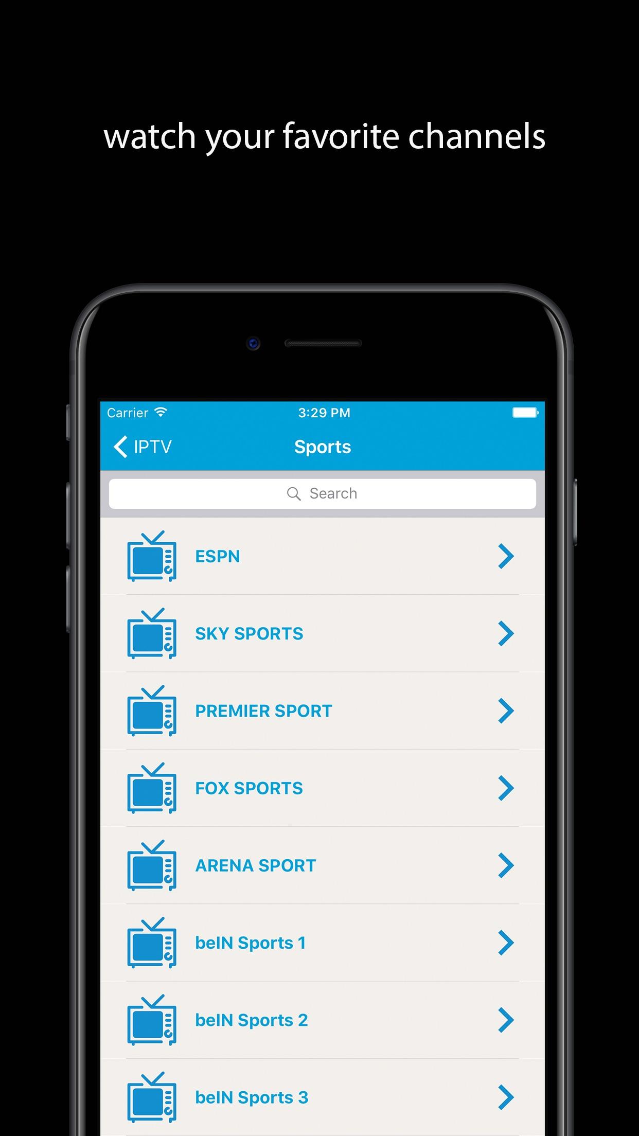 IPTV World: Watch TV Online Screenshot