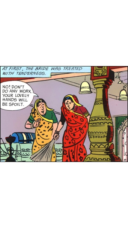 Jataka Tales-The True Friends-Amar Chitra Katha screenshot-2