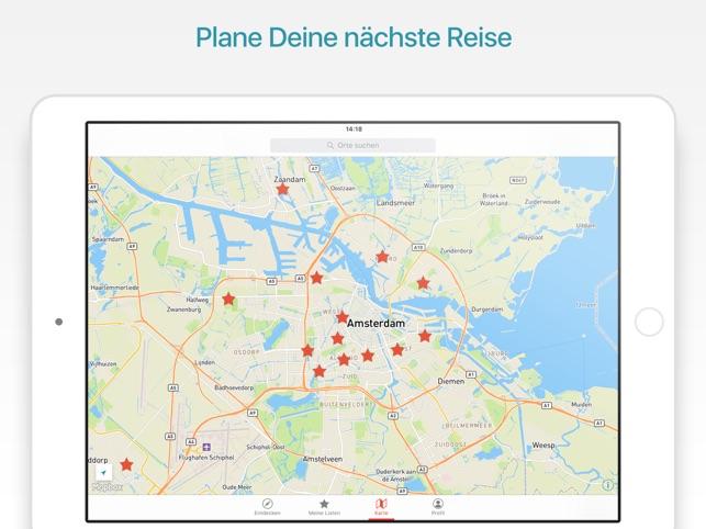 Amsterdam Reiseführer und Kart im App Store