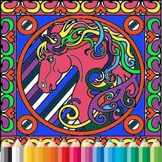 Activities of Activities book - Colouring pages for adults