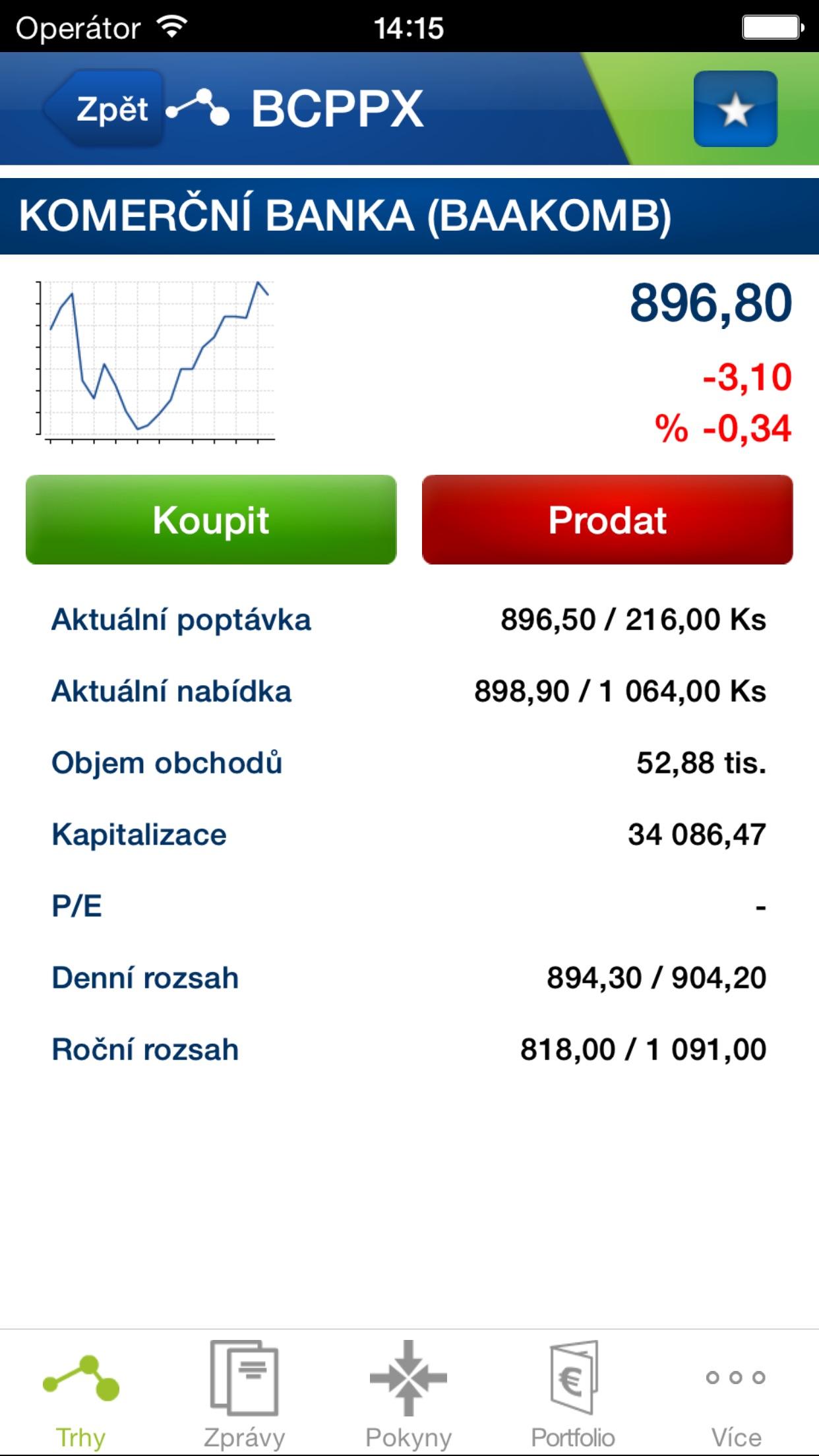 Fio Smartbroker Screenshot