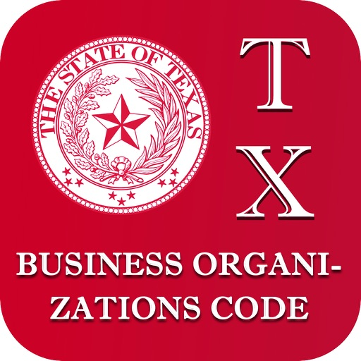 Texas Business Organizations Code 2017